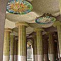 Parc Guell Plaza Columnas