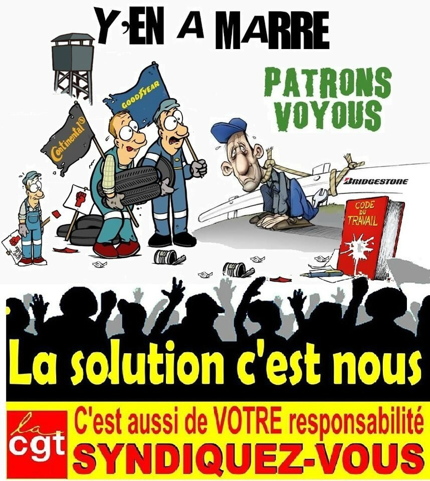 Affiche syndicalisation
