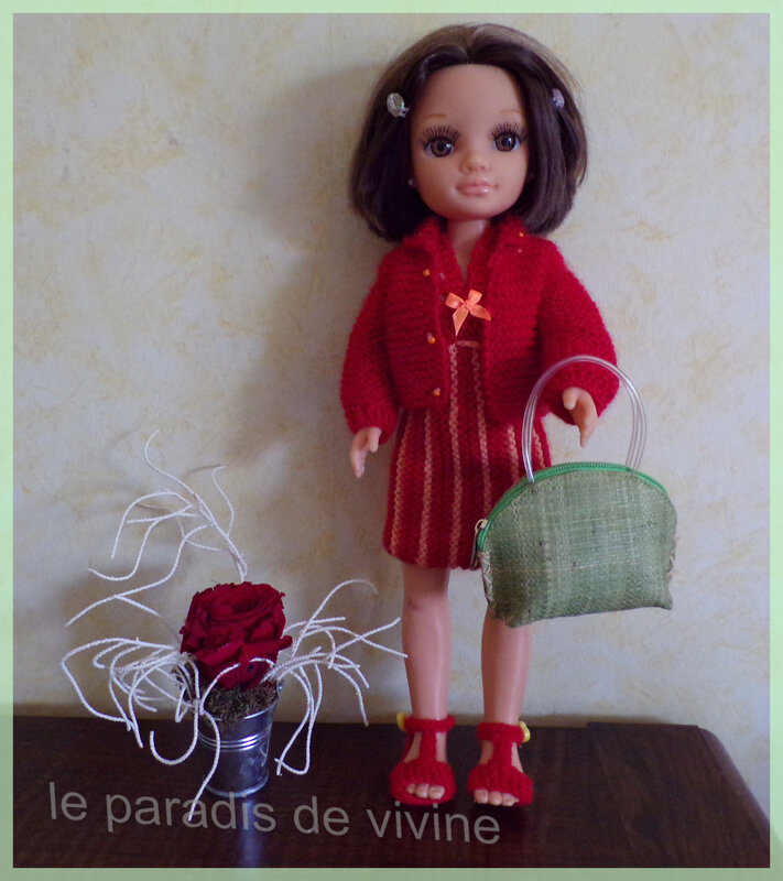 camilla(nacy) en tenue working girl