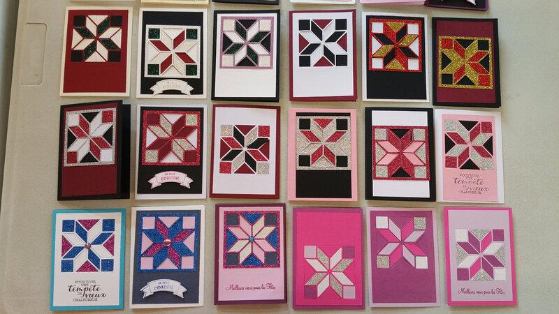 30b Création de cartes Patchwork