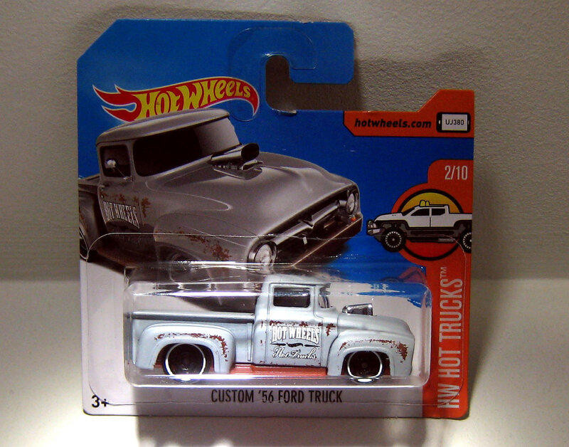 Ford Truck Custom de 1956 (Hotwheels 2017)