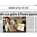 Article de Journal de La Montagne 10 mai 2012