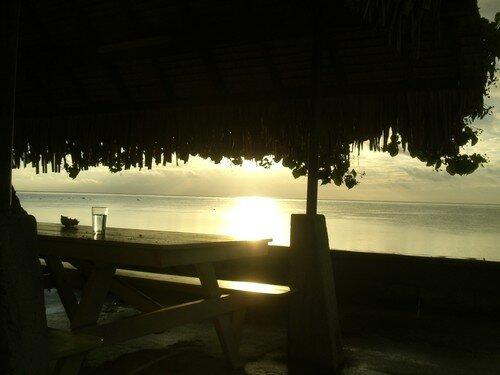 Mo'orea, coucher de soleil