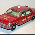 Ford fairlane fire chief's car 59 b …