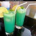 Boisson fraîcheur concombre citron menthe (recette maison)