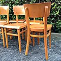 chaises thonet vintage 2