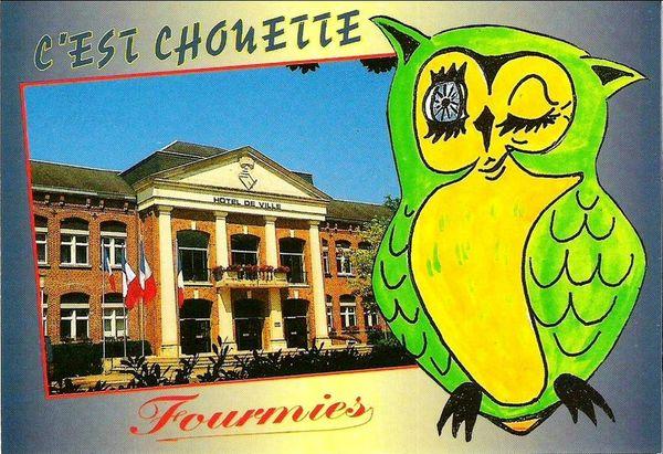 FOURMIES-Hôtel de ville -Souvenir (2)