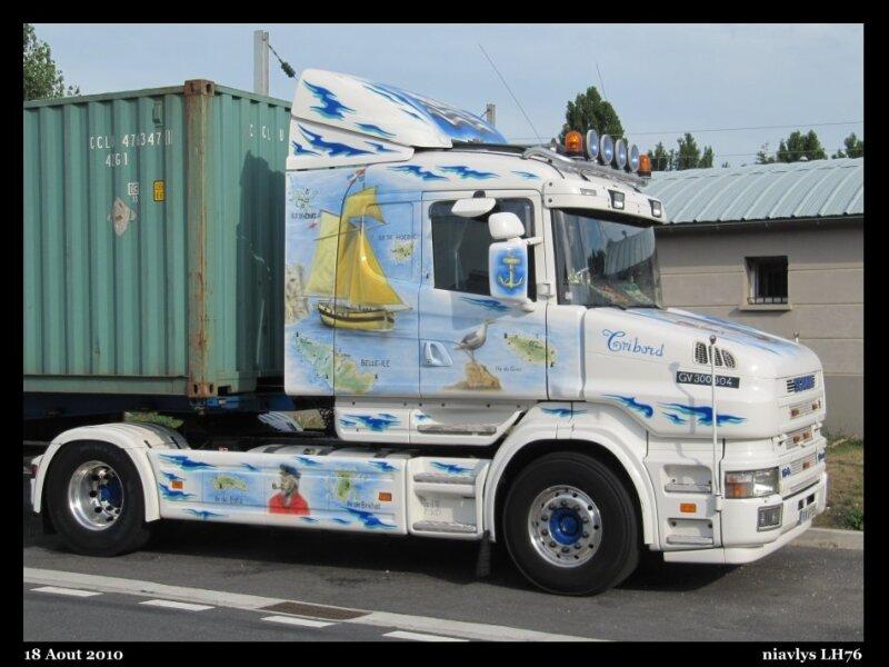 Scania décoré 1