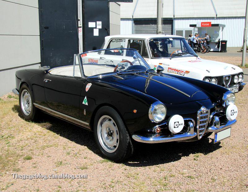 Alfa romeo giulietta convertible (RegioMotoClassica 2011) 01