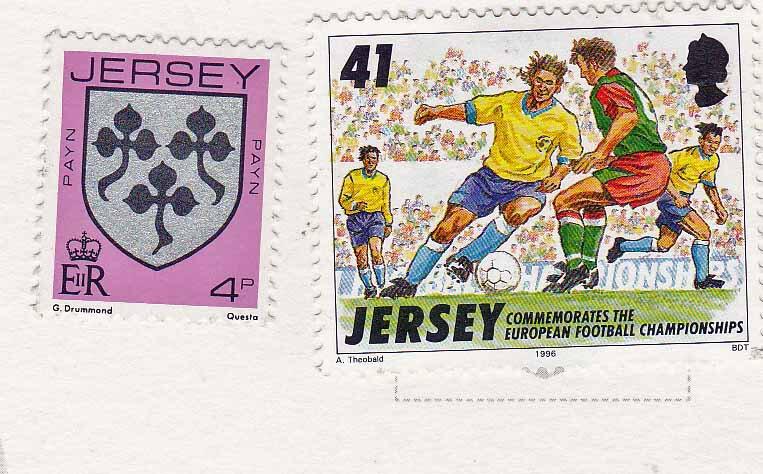 AEV 1920-21 JP Timbres de Jersey