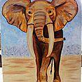 Des toiles inspirées d'afrique