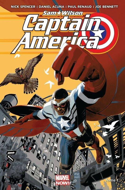 marvel now captain america sam wilson 01 pas mon captain america