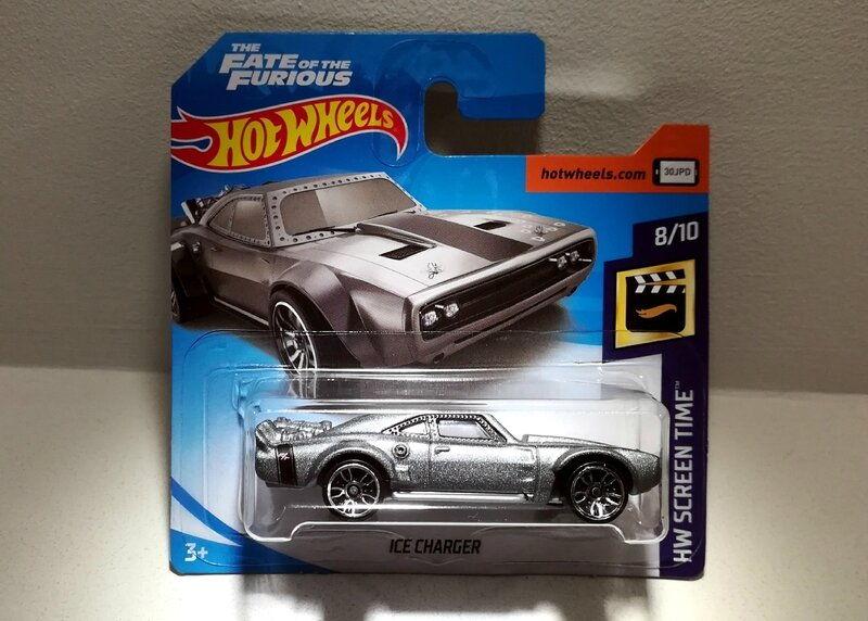 Dodge Charger Ice Charger (Hotwheels) 02