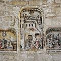 37 Bas-relief 16e-Annonciation, Nativité, Adoration