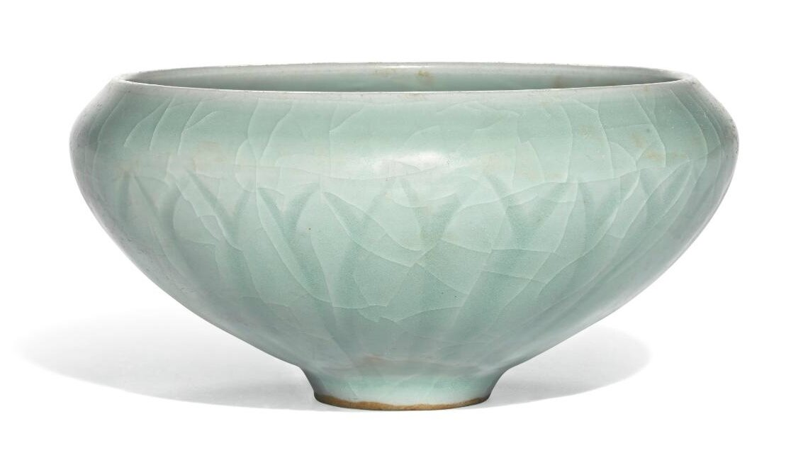 A 'Longquan' celadon alms bowl, Southern Song dynasty