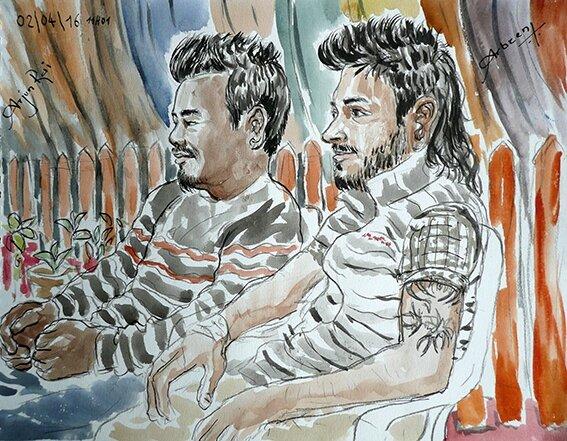 Arjun et Arbeen72