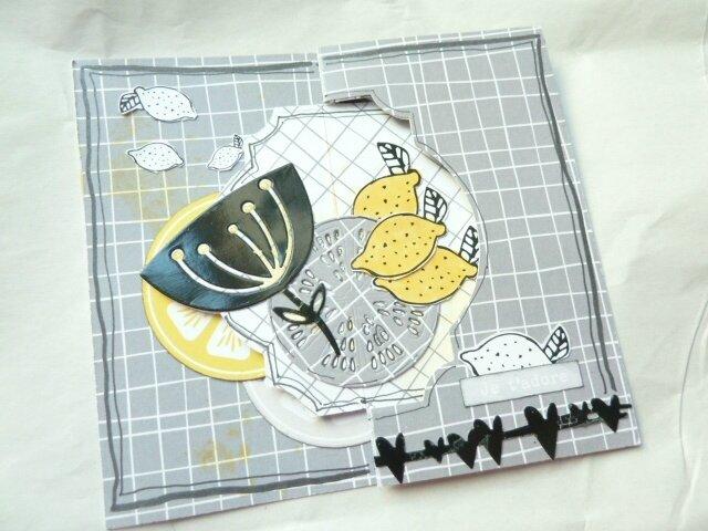 Carte en pepsy design