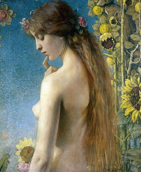 Clytie by Louis Welden Hawkins 1849–1910
