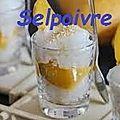 Riz gluant au lait de coco et mangue.