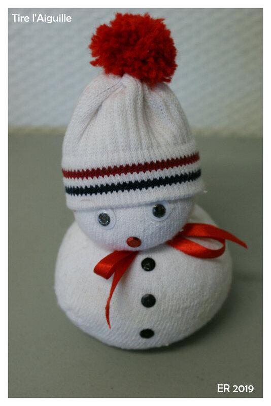 2019-12 - Bonhomme de neige Noël - ER