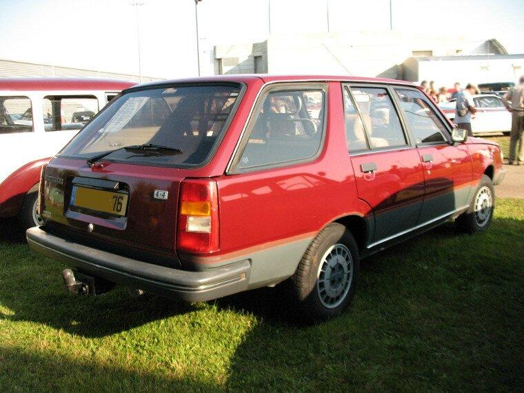 Renault 18 GTL 4x4 (1984-1986) - Autos-Croisées