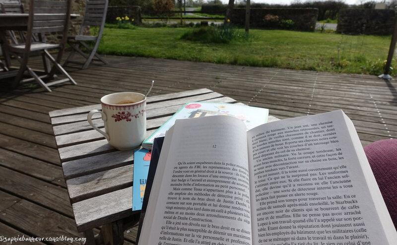 printemps terrasse lecture
