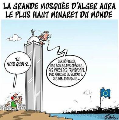 islam algerie humour mosquée ecole hopital