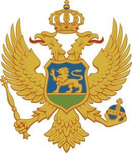 Armoirie Montenegro