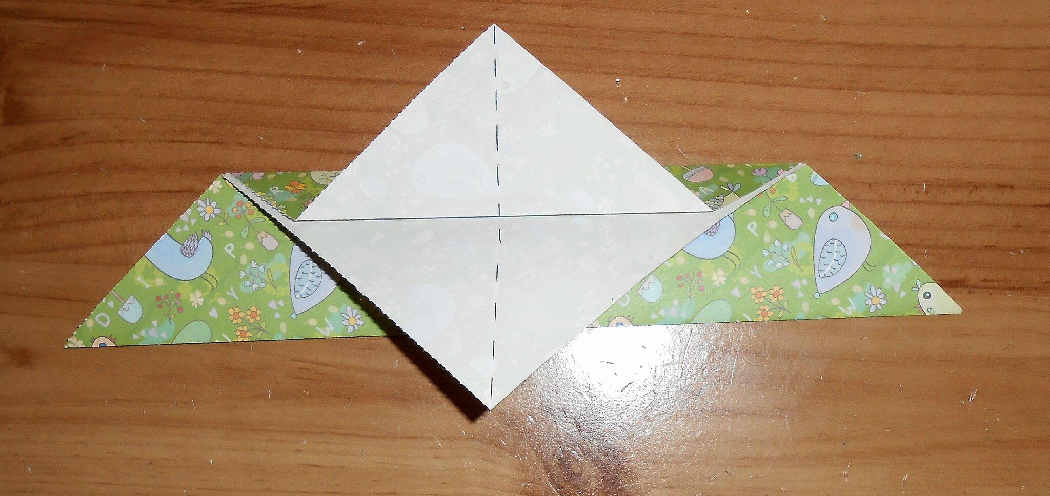 Oiseau En Papier Origami Vraiment Simple La Maison Féerique