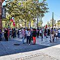 Manifestation en faveur de la Palestine
