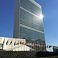 Siege des nations unies - new york - etats-unis