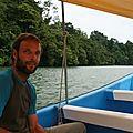 Un barbu sur le Rio Dulce