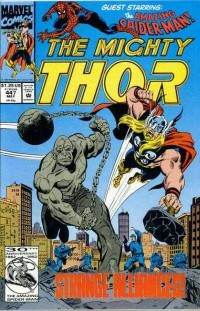 mighty thor 1966 447