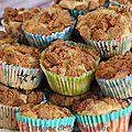 Muffins banane-spéculoos