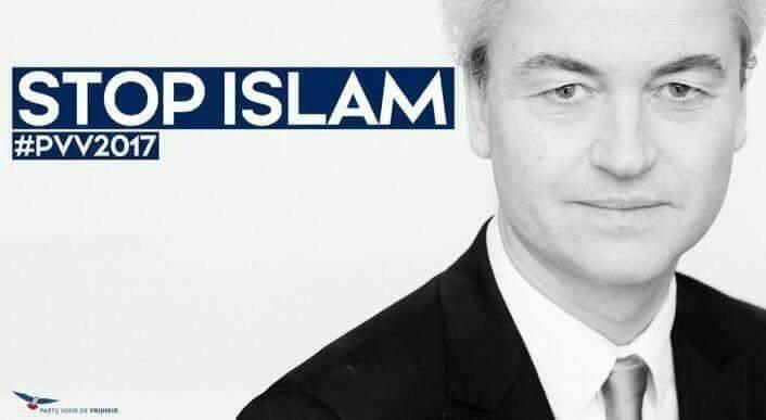 Soutien TOTAL à Geert Wilders