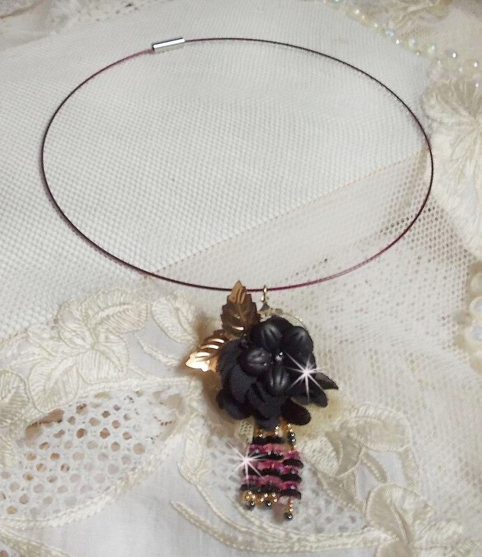 Collier pendentif Attrape-Rêves Léana 1-1