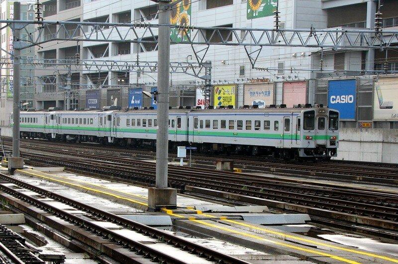 JR Kiha 150 at Sapporo