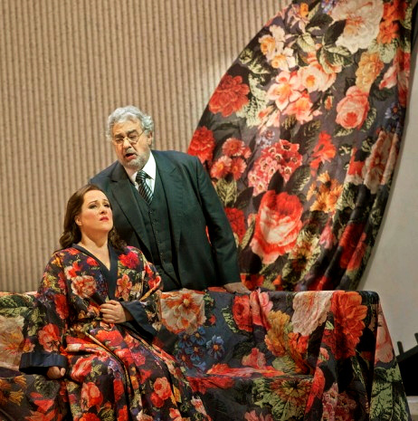Damrau Domingo, La Traviata, Met, 2013