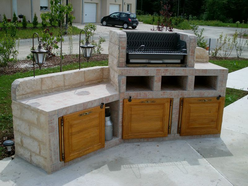 barbecue el matos constructions et passions. Black Bedroom Furniture Sets. Home Design Ideas