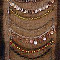 Les bracelets de chevilles de Chantal Bossard