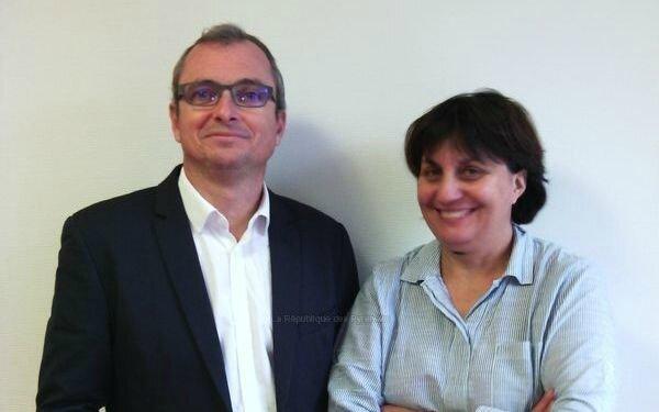 Nos gagnants : Christophe MAUVILLAIN et Véronique LAVERGNE