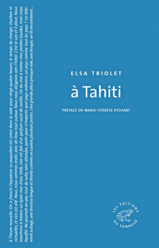 Elsa Triolet - A Tahiti