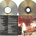 queen on fire dvd promo france