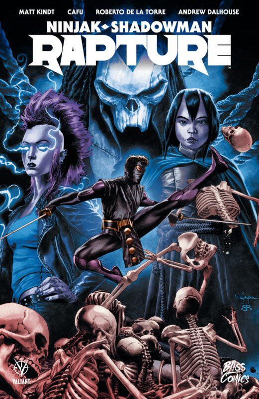 Bliss Valiant Ninjak / Shadowman Rapture