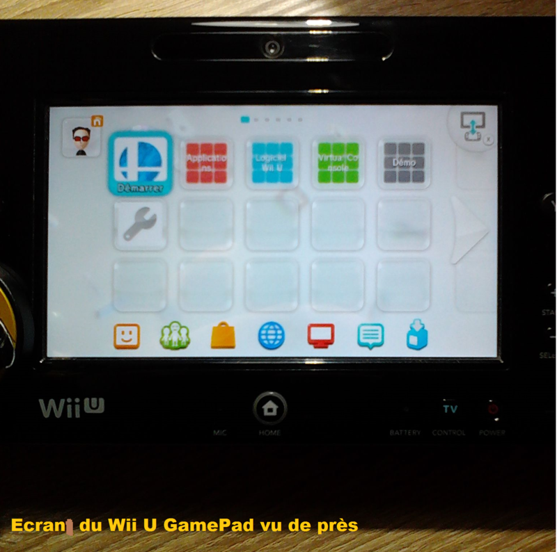 instruction du wii u gamepad2