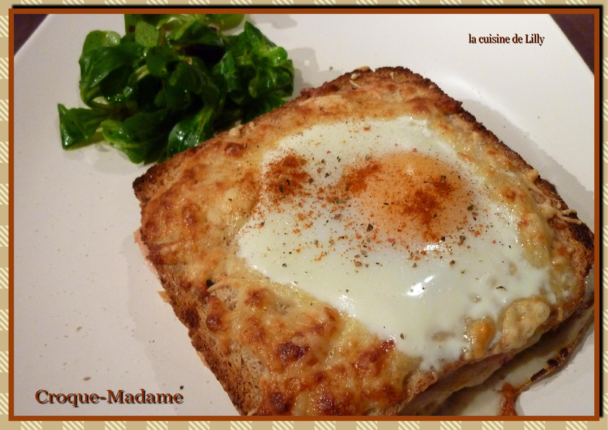 Croque Madame La Cuisine De Lilly