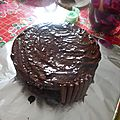 Mon gravity cake ou gâteau ensorcelé