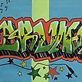 Graffiti danse et musique