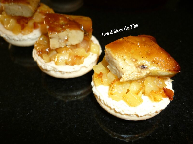 Macaron escalope foie gras pomme Tentation 13 11 16 (10)