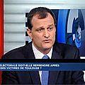 Louis aliot, vice-président du fn sur bfm-tv le 02/07/2013